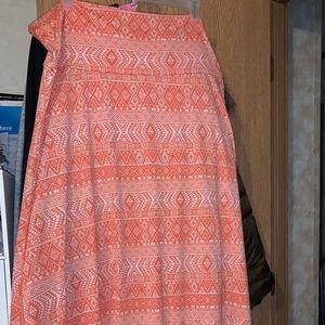 LuLaRoe Maxi Skirt Sz. 3XL
